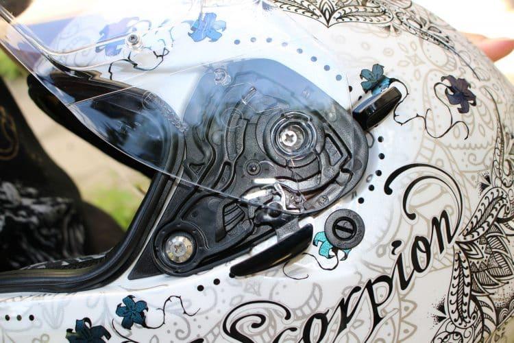 Dessin de casque de moto à imprimer